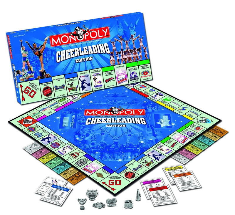 Monopoly Cheerleading Board Game