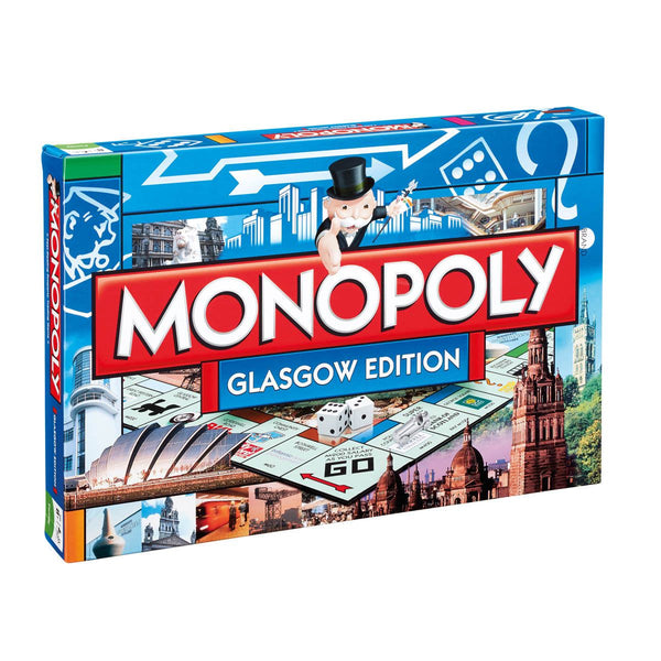 Glasgow Edition Monopoly Board Game