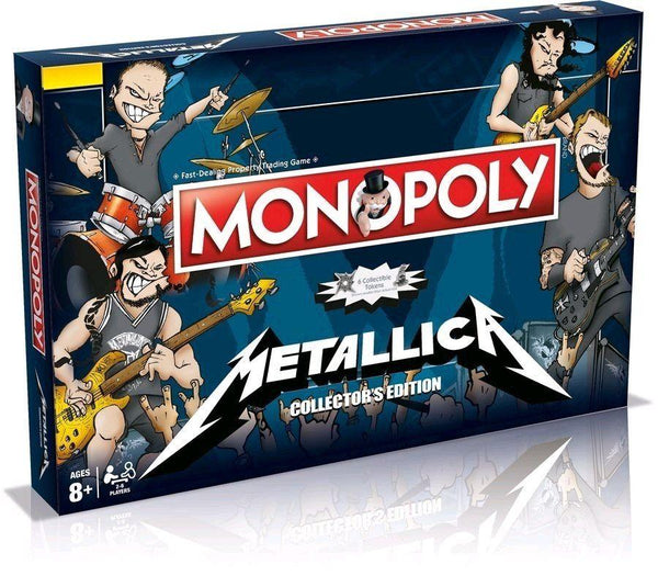 Monopoly Metallica Board Game