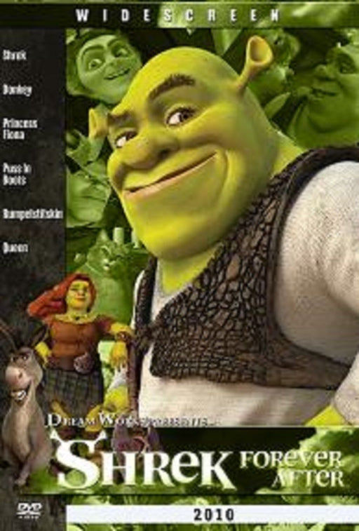 SHREK FOREVER DVD in Arabic