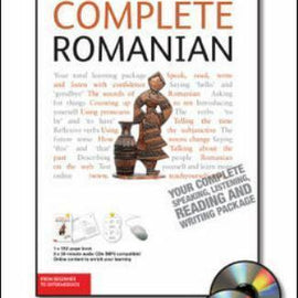 Complete Romanian Course Book and 2 Audio CD's