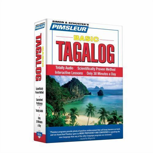 Pimsleur Tagalog  Basic Course Audio CD'a