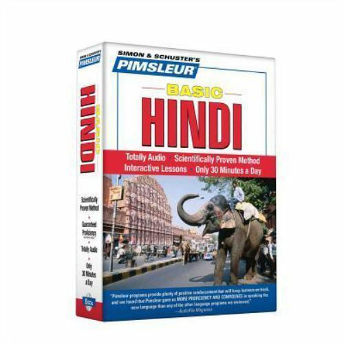 Pimsleur Hindi Basic Course Audio CD's