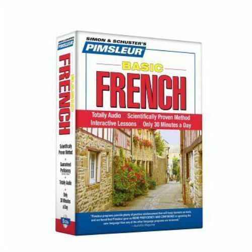 Pimsleur French Basic Course Audio CD's