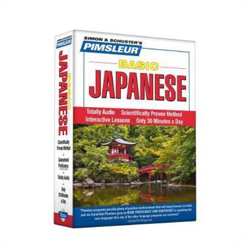 Pimsleur Japanese Basic Course Audio CD's