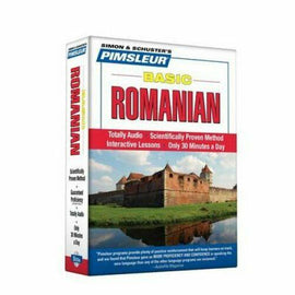 Pimsleur Romanian Basic Course Audio CD's