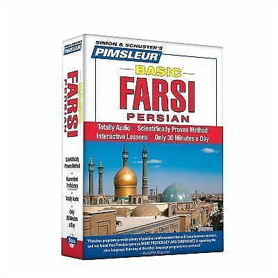 Pimsleur Farsi Basic Course Audio CD's