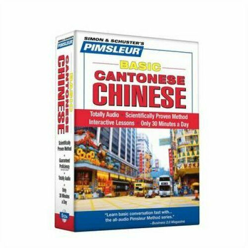 Pimsleur Cantonese Chinese Basic Course Audio CD's