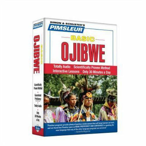 Pimsleur Ojibwe Basic Course Audio CD's