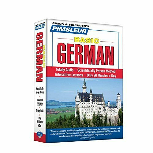 Pimsleur German Basic Course Audio CD's