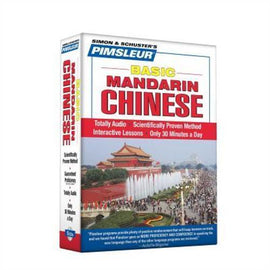 Pimsleur Mandarin Chinese Basic Course Audio CD's
