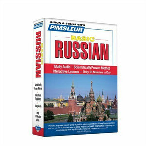 Pimsleur Russian Basic Course Audio CD's