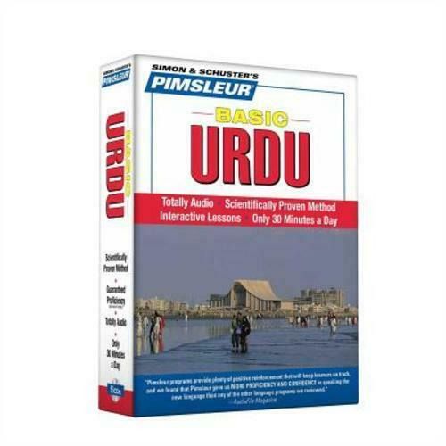 Pimsleur Urdu Basic Course Audio CD's