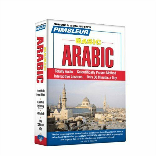 Pimsleur Arabic Basic Course Audio CD's