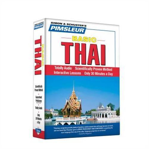 Pimsleur Thai Basic Course Audio CD's