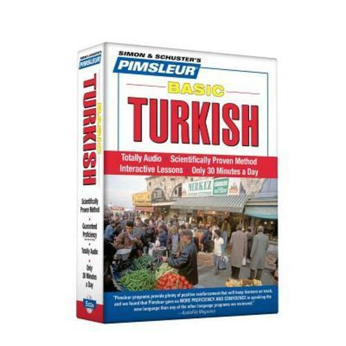 Pimsleur Turkish Basic Course Audio CD's