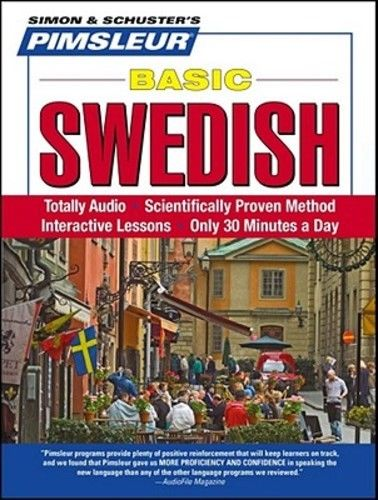 Pimsleur Swedish Basic Course Audio CD's