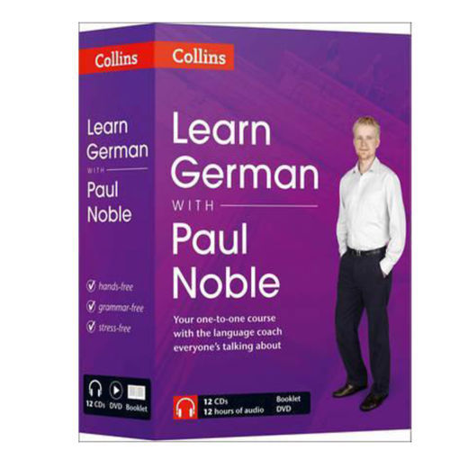 Learn German with Paul Noble Collins 12 CDs, DVD, and Booklet