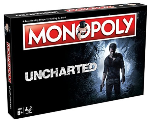 Monopoly Uncharted Board Game