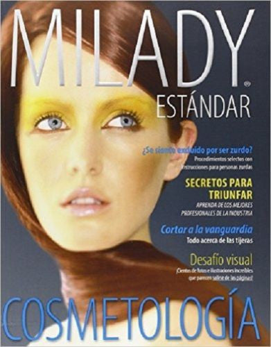 Spanish Translated Milady Standard Cosmetology 2012 by Milad Paperback 12th ED