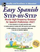 Easy Spanish Step-by-Step by Barbara Bregstein (Paperback) 1st Edition NEW - Teacher In Spanish