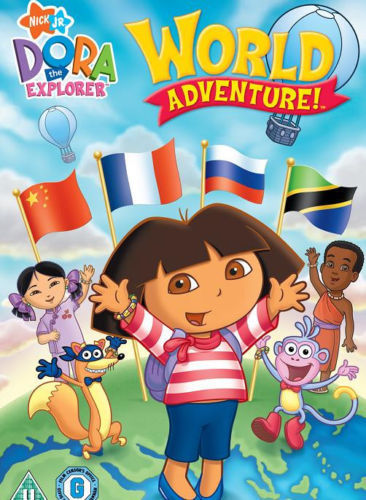 DORA WORLD ADVENTURES DVD in Arabic