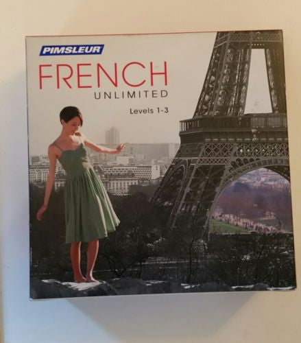 Pimsleur French Unlimited level 1 through 3