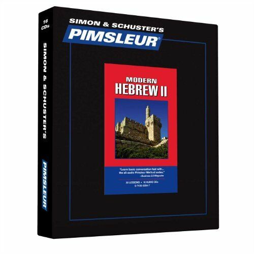 Modern Hebrew Pimsleur Level 1, 2, 3