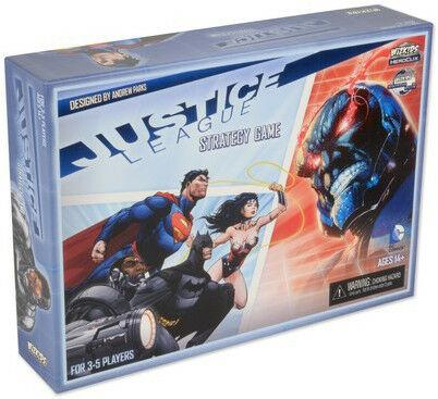 Justice League Strategy Game Board Game