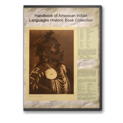 Handbook of Native American Indian Languages on CD