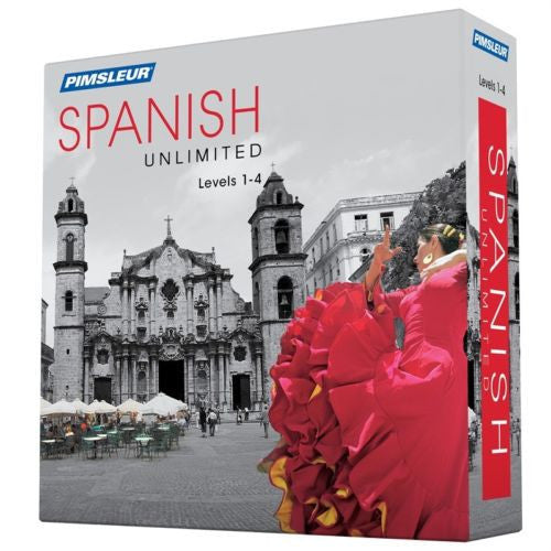 Pimsleur Unlimited SPANISH Language Level 1 2 3 4 Complete