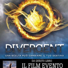 Divergent Book in italian Hardcover Used
