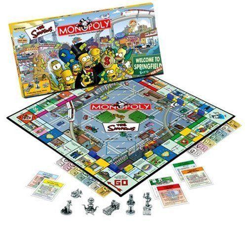 The Simpsons Monopoly Board Game
