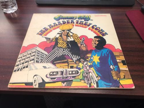 Jimmy Cliff The Harder They Come -  LP Vinyl Record Like New