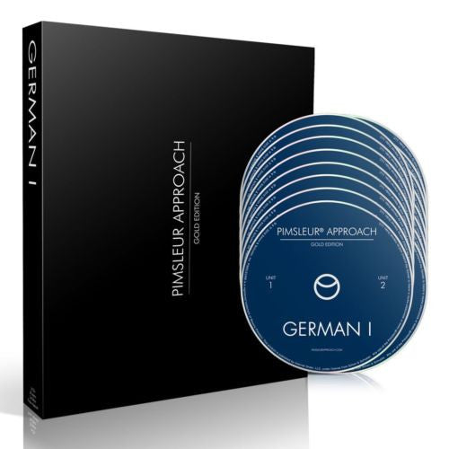 German Learning Bundle - Pimsleur German in a Flash and Langenscheidt Dictionary