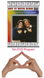 Say it With Sign ASL sign language DVD course