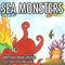Sea Monsters Bilingual Coloring Book