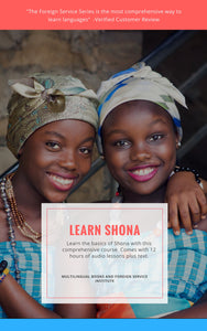 Learn Shona Mp3 Download or Flash Drive