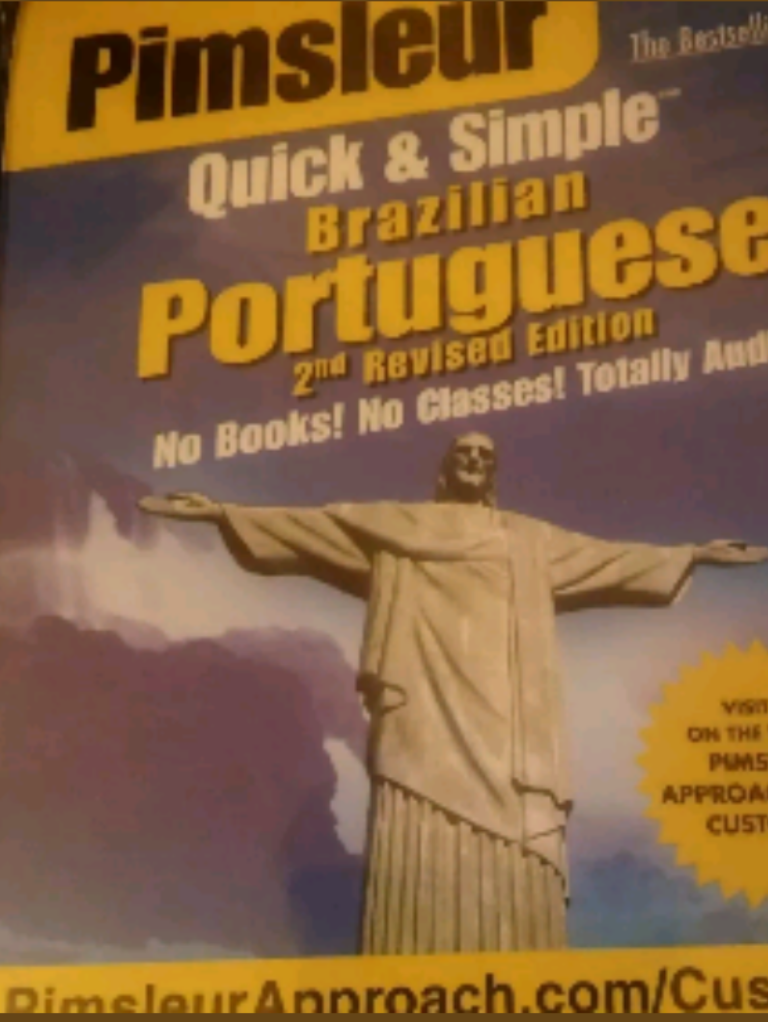 Pimsleur portugués brazilian language learning (audio)