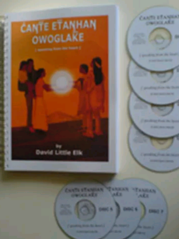 (Authentic) Lakota Sioux Indian 7 disc language course