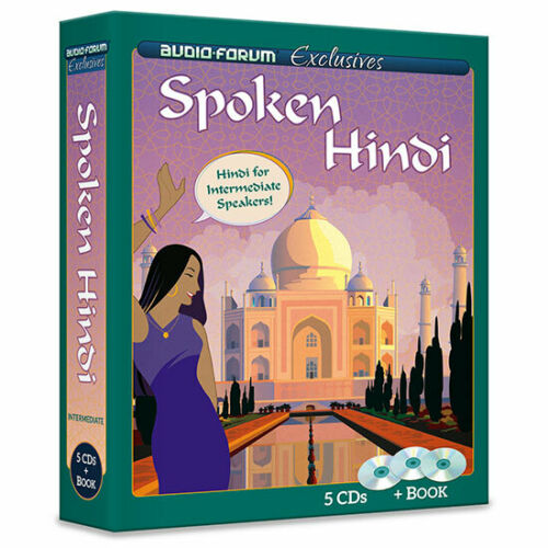 Spoken Hindi Book and Audio for Intermediate learners