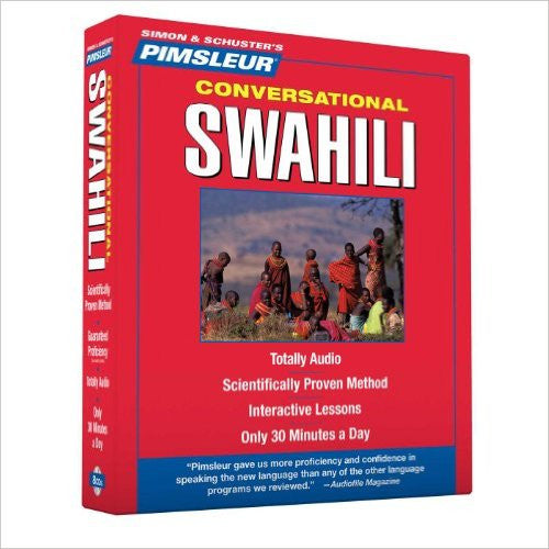 Pimsleur Comprehensive Swahili CD Course