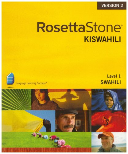 Rosetta Stone Swahili Level 1 Version V.2. Cd-ROM