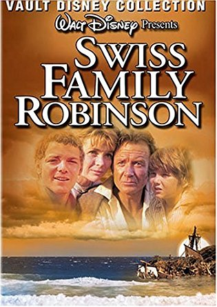 Swiss Family Robinson Spanish and English DVD
