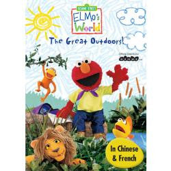 Sesame Street - Elmo's World - The Great Outdoors - French, Chinese