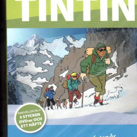 Tin Tin DVD Box Set in Swedish