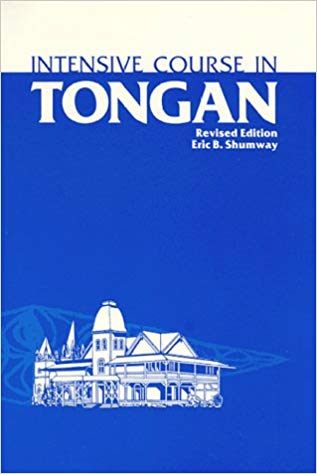 Intensive Course in Tongan: Book with optional audio