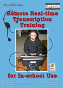 Remote Real-Transcription Training for In-School Use