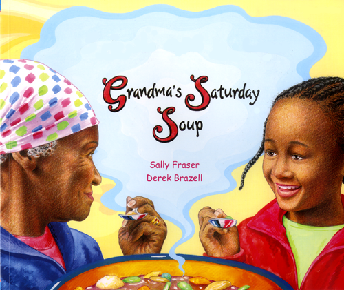 Grandma's Saturday Soup Bilingual Book in Yoruba and English