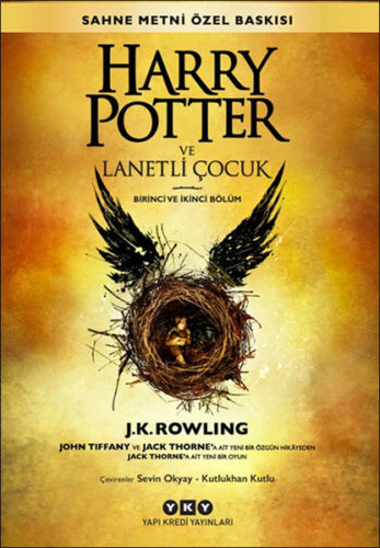 Harry Potter and the Cursed Child Book Eight in Turkish